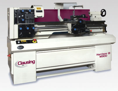 Clausing Harrison Precision Lathes: Geared & Variable Speed