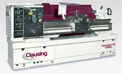 Clausing Harrison Variable Speed Lathes V390